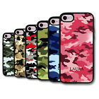 Personalised Name Army Camo Camouflage Pattern Deluxe Phone Case Cover Skin