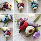 wrist corsages for bridesmaids - Wedding Decor Waist Corsage Flowers Artificial Rose for Bride Bridesmaid Sisters