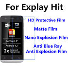 3pcs For Explay Hit Anti Scratch Matte,High Clear Screen Protector