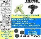 SIX SHOWER PRESSURE RELIEF DEVICE PRD KITS PARTS FIT EVERY TRITON PRD VALVE