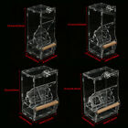 No Mess Clear Window Pet Bird Cockatiel Canary Parrot Cage Feeder Hanging 2Types