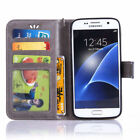 Patterned Leather Card Slot Wallte Flip Kickstand Case For Samsung Galaxy NOTE 5