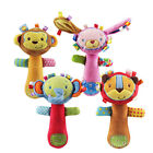 2018 Baby Toys Infant Animal Hand Bell Baby Rattles Hand Plush Stuffed Toy