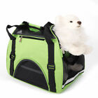 Dog Portable Travel Bag Nylon Pet Breathable Folding Tote Cat Car Carrier Puppy