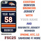 Denver Broncos NFL Phone Case Cover for LG G6 G5 G4 HTC One m9 Moto E G X etc.