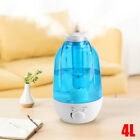 3L Ultrasonic Humidifier Diffuser LED Light Air Purifier Large Water Tank