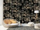 Wall Mural Photo Wallpaper Picture EASY-INSTALL Fleece 3D Wood Planks Texture