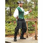 Black Pirate Pants / Trousers. Perfect For Re-enactment Stage LARP & Costume