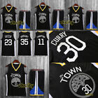 Top & Shorts Golden State Warriors The Town NBA Jersey Adult Kid Men Youth Set