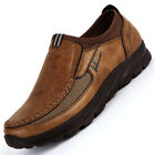 New Summer Mens Suede Leather Shoes Breathable Antiskid Loafers Moccasins