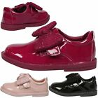 NEW GIRLS SHOES AGE CHILDRENS FLATS SCHOOL CASUAL OCCASION KIDS TODDLERS GEM BOW