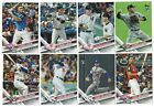 2017 Topps Update Complete Team Set Rookie Card Logo RC Traded Updated