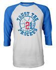 "Joel Embiid Philadelphia 76ers ""Trust The Process"" Raglan Quarter Sleeve T-Shirt on eBay"