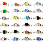 Bulk Wholesale Lots Mixed Style Silver Women Kids Rings Costume Jewelry Gift