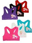 ToBeInStyle Pack Of 6 Girls' Bras and Boyshorts - Princess a