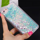 Luxury Bling Glitter Hearts Liquid Soft Case Cover for Samsung S9 S9+ S8+ Note 8