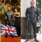 Cosplay 2018 Movie Black Panther Costume Superhero Jumpsuit Halloween Costume