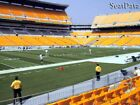 (2) Steelers vs Browns Tickets 7th Row Lower Level Sidelines!!