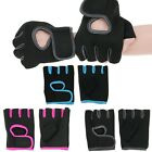 Внешний вид - Women Men Work Out Gloves Weight Lifting Gym Sport Exercise Training Half Finger