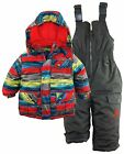 Rugged Bear Baby Boys Puffer Ski Jacket Snowsuit Snowboarding Winter Gear