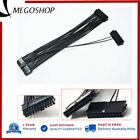 24Pin Dual PSU ATX Power Supply Adapter Cable Connector 30cm For PC Mainboard GR