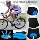 Summer 3D GEL Padded Bike Cycling Underwear Riding Shorts Pants for Mens Women