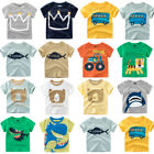 Внешний вид - Summer Casual Infant Baby Kid Boy Girl T Shirts Cotton Tops Outfit Daily Clothes