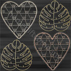 Large Wire Metal Hanging Photo Jewellery Holder Display Home Decoration Gift