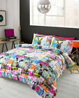 #Bedding 'VINYL' Duvet bed set, by Hashtag, Neon colours in single double or ...