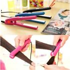 Mini Hair Straightener Flat Iron Professional Ceramic Tourmaline Plate Portable