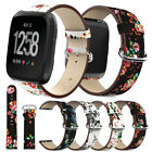 For Fitbit Versa Smart Watch Strap Milanese Loop Magnetic / Leather Wrist Band image