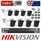HIKVISION CCTV DVR 4CH 8CH HIWATCH BULLET CAMERA SYSTEM SECURITY KIT P2P TRADE