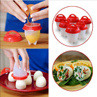 Home Garden - New Egglettes Maker 6 Pack Egg Cooker -Hard Boiled Eggs without the Shell Eggies