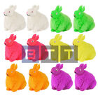 12x Flashing Puffer Animal Rabbit Squidgy Sensory Stress TOY Party Bag 13cm