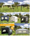 3X6/3X3/2.5X2.5M PARTY GAZEBO CANOPY MARQUEE GARDEN OUTDOOR WEDDING PARTY TENT