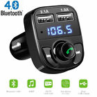 mp3 players car - Bluetooth Car FM Transmitter Wireless Radio Adapter USB Charger Mp3 Player US ST