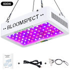 BLOOMSPECT 600W 1000W 1200W 2000W LED Grow Light Full Spectrum for Indoor Plants. Buy it now for 59.99