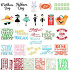 DIY Mother's Day Metal Cutting Dies Stencil Scrapbooking Album Embossing Crafts