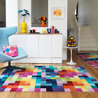 NEW EXTRA LARGE NEW ZEALAND WOOL RUG MODERN THICK MULTI PURE HIGH QUALITY RUG