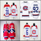 Jersey Montreal Canadiens Nhl Red White Hockey Classic Winter 2018 100th New