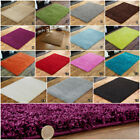 NEW SHAGGY SMALL TO EXTRA LARGE MODERN NON SHED 5CM THICK SHAGGY FLOOR RUGS