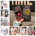 Fashion Cute Smile Glitter Sequins Gold Foil Case Cover For iphone X 6s 7 8 Plus $3.59 USD on eBay