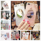 Fashion Mirror Glitter Sequins Silica Gel TPU Case Cover For iphone X 6s 7 8Plus $4.77 CAD on eBay