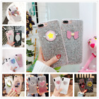 New Glittering Sequins Soft Silica Gel Clear Case Cover For iphone X 6s 7 8 Plus $4.77 CAD on eBay