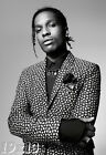 ASAP Rocky Portrait Black & White Poster or Art Print