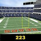 (2) TIX- Chicago Bears Vs Tampa Bay Buccaneers 9/30/18 Section 223 Row 2 For Sale