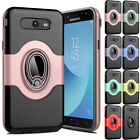 Shockproof Leather 360 Stand Case Cover For Samsung Galaxy J7 Prime J5 J3 Emerge