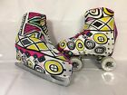Abstract Lycra Boot Covers for RollerSkates and Ice Skates  S,M,L