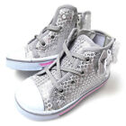 New Toddler Baby Girl sneakers high top tennis shoes 2-9