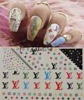 sexy nail polish names - 3D Gold Silver Black Sexy CAT Nail Art Water Transfer Decals Stickers Tattoo DIY